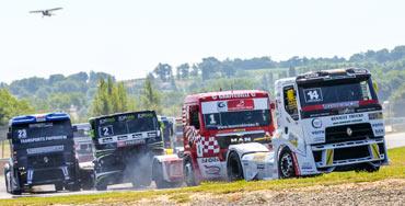 Nationale Truck-Meisterschaften in Europa