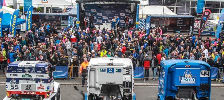 European Truck Racing Truck Race Information Service